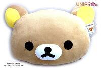 懶懶熊玩偶娃娃推薦到【UNIPRO】拉拉熊正版授權 Rilakkuma 輕鬆熊 哥哥 棕熊 頭型 抱枕 靠枕 暖手枕 小就在UNIPRO優鋪推薦懶懶熊玩偶娃娃