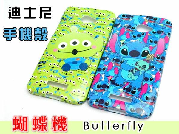 UNIPRO 迪士尼 HTC 蝴蝶機 x920d Butterfly 901e M7 史迪奇 三眼怪 手機殼 軟殼
