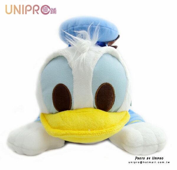 【UNIPRO】迪士尼 唐老鴨 Donald McDuck 趴姿 造型 絨毛 面紙套 造型立體 正版授權