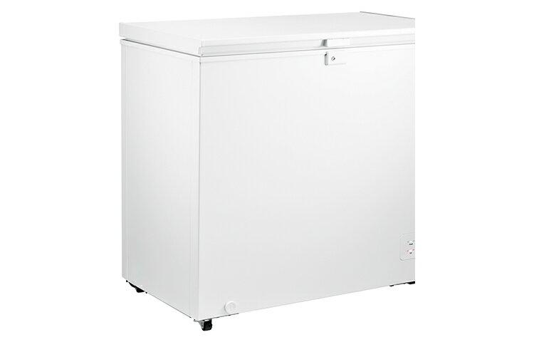 LG 樂金 單門上掀式臥式冷凍櫃 水漾白 / 198公升 GC-F200W