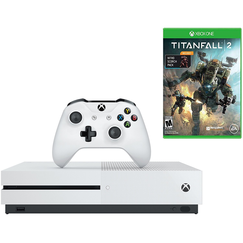 Microsoft Xbox One S 1TB 4K BluRay Console & Titanfall 2 Bundle