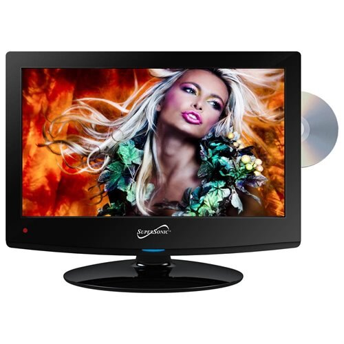 "Supersonic SC-1512 15"" TV/DVD Combo - HDTV - 16:9 - 1440 x 900 - 720p - LED - ATSC - 70 / 60 - HDMI - USB"