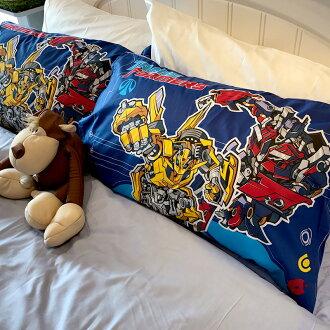 床包 / 單人 【變形金剛-勇氣篇】混紡精梳棉,含一件枕套,戀家小舖,台灣製