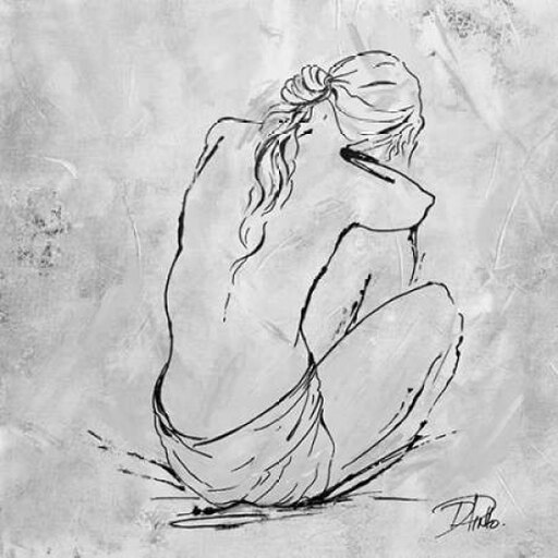 Nude Sketch I Poster Print by Patricia Pinto (12 x 12) 7cbe9232d7a969539b7e49eaa9998f1d