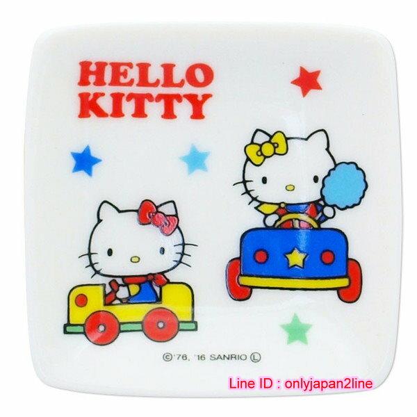 【真愛日本】16111900009迷你盤-KT遊樂園白    凱蒂貓 三麗鷗  盤子  小菜碟  生活用品