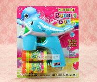 婚禮小物推薦到一定要幸福哦~~電動泡泡槍(藍)、派對、生日、婚禮小物、泡泡水