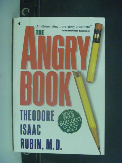 【書寶二手書T2/原文小說_JKC】The Angry Book_Theodore Isaac Rubin