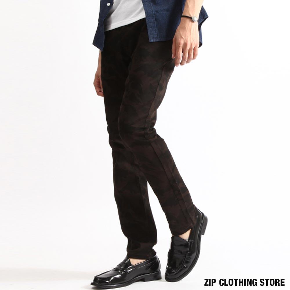 【現貨】 窄管褲  skinny 伸縮彈性 日本男裝 超商取貨 zip clothing store x youtuber壹加壹【14016-53pz-aa】 0
