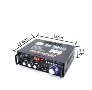 現貨秒出 110V 藍牙音箱 小型卡拉OK 唱歌 KTV 迷你 擴大機 放大器 擴音機
