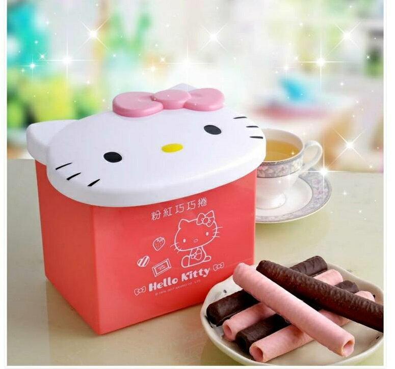 KITTY粉色巧巧捲禮盒海渡