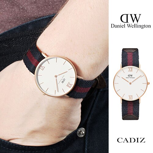 【Cadiz】瑞典正品 Daniel Wellington DW錶 0551DW 噴砂玫瑰金 Grace London 36mm [代購/ 現貨]