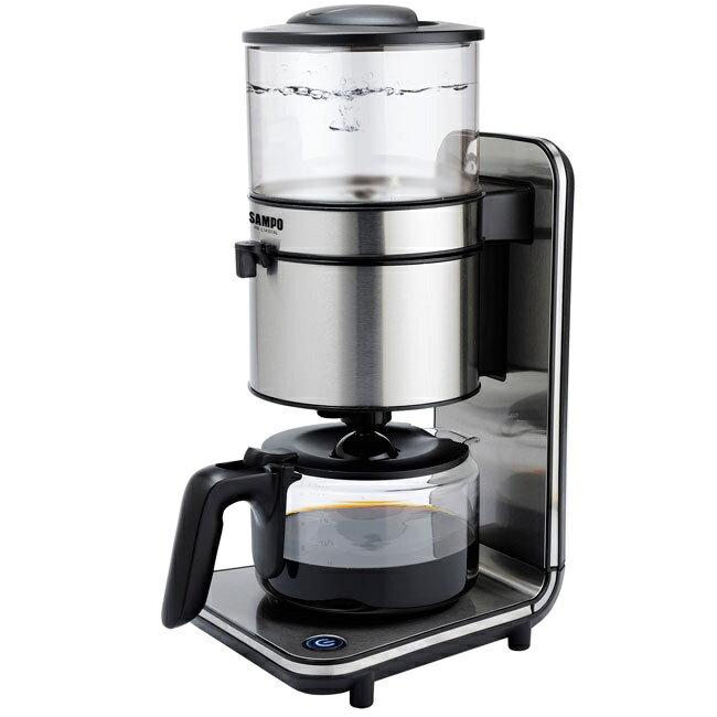 SAMPO 聲寶 經典咖啡機 時尚銀 HM-L14101AL