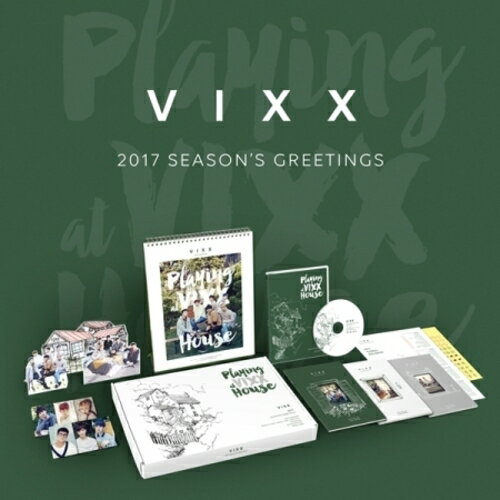 [PRE-ORDER] VIXX - 2017 SEASON'S GREETING (FIRST LIMITED POSTER)【包包阿者西】