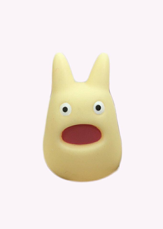 【真愛 】15061300016 t指套娃娃-白龍貓吼叫 龍貓 TOTORO 豆豆龍 收藏 擺飾 玩具 公仔 正品