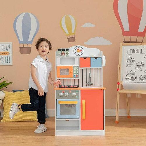 木製家家酒兒童廚房玩具