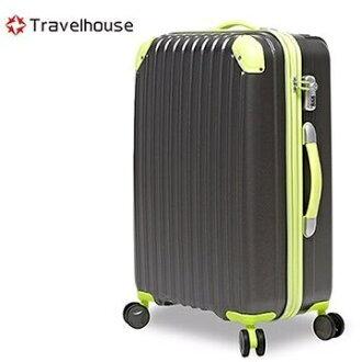 【加賀皮件】TravelHouse 時空獵人 霧面防刮 28吋 行李箱 旅行箱 拉桿箱【TH2036-28】