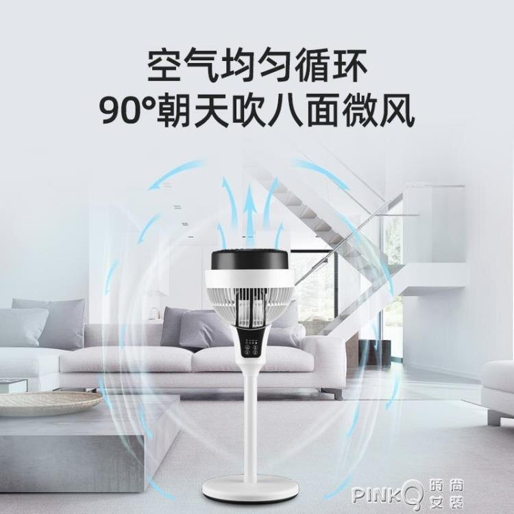 西麗空氣循環扇家用遙控定時台式電風扇靜音落地立式渦輪對流風扇