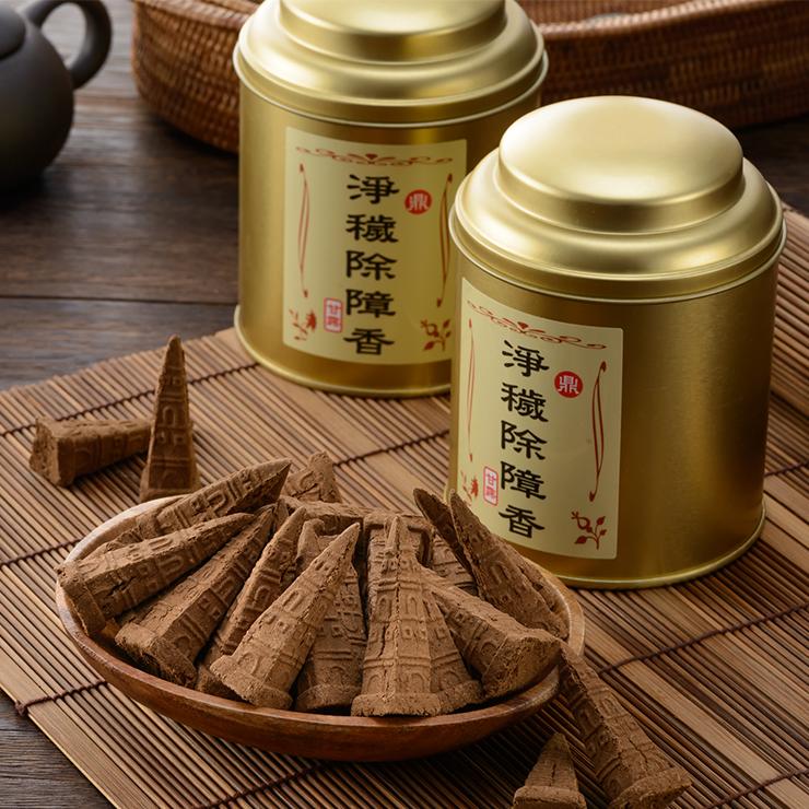 淨穢除障香-香塔 含降真香成份 天然香 台灣製 藏香 重量約150克