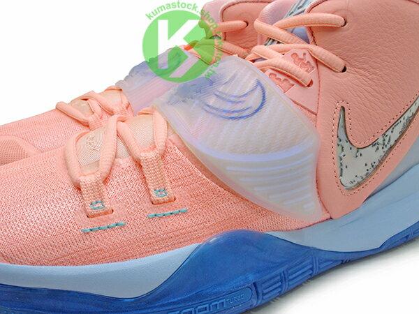 2019-2020 Kyrie Irving 最新代言鞋款 限量發售款 CONCEPTS x NIKE KYRIE 6 CNCPTS EP VI KHEPRI 淡粉紅 藍底 聖甲蟲 古埃及 神話 凱布利 前掌 ZOOM TURBO AIR 氣墊 (CU8880-600) ! 2