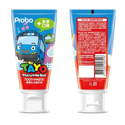 博寶兒 兒童牙膏Tayo-80g多多口味★衛立兒生活館★