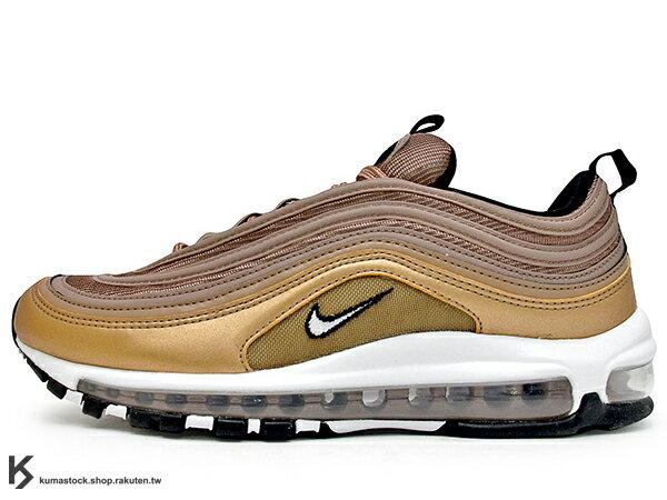 2018 NSW 經典復刻慢跑鞋 NIKE AIR MAX 97 1997 男鞋 沙漠金 玫瑰金 DESERT DUST 3M 反光 全氣墊 子彈 慢跑鞋 \