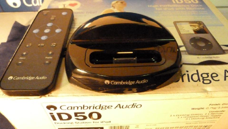 (((iD 50 iPod座 展示品))) 無傷 Cambridge Audio 英國劍橋音響 家庭劇院 CD BD AV 擴大機 無線數位串流 藍芽 網路收音機