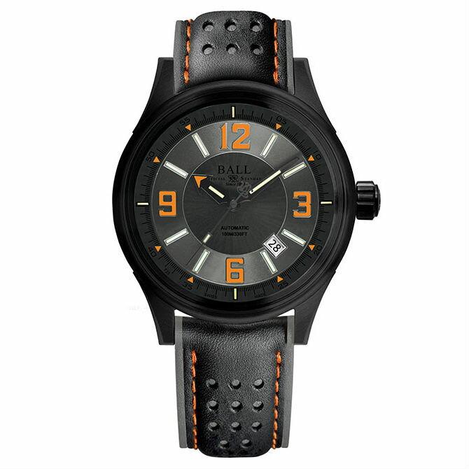 BALL 波爾錶 NM3098C-L1J-GYOR Fireman 氚氣燈管大三針專業機械腕錶 / 43mm - 限時優惠好康折扣