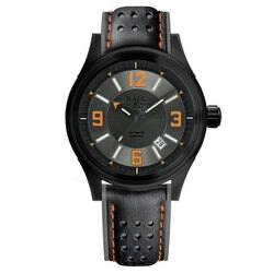 BALL 波爾錶 NM3098C-L1J-GYOR Fireman 氚氣燈管大三針專業機械腕錶/43mm