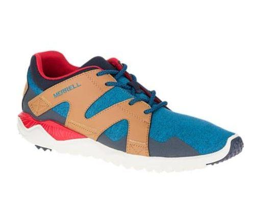 MERRELL 1SIX8 LACE 男 休閒鞋 藍咖啡 健行鞋│休閒鞋│運動鞋 8