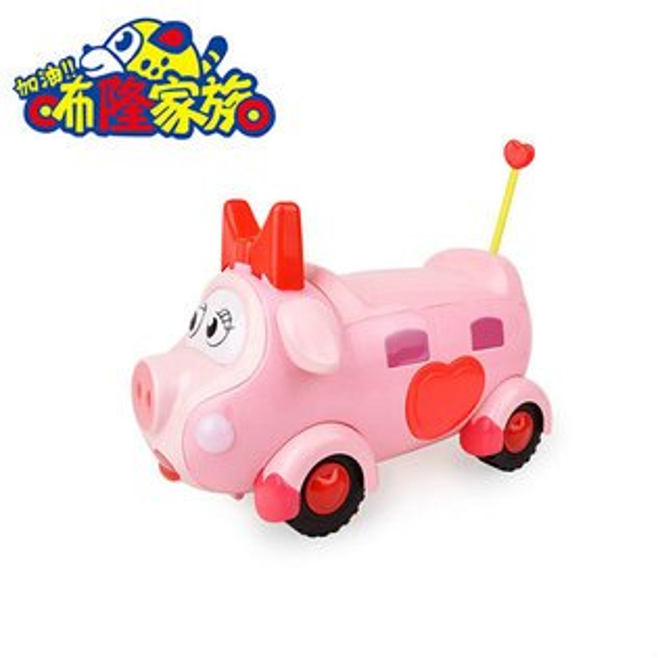 【888便利購】咘隆家族高級聲光學步車(粉紅豬媽媽版)(觸摸感應說故事唱歌)