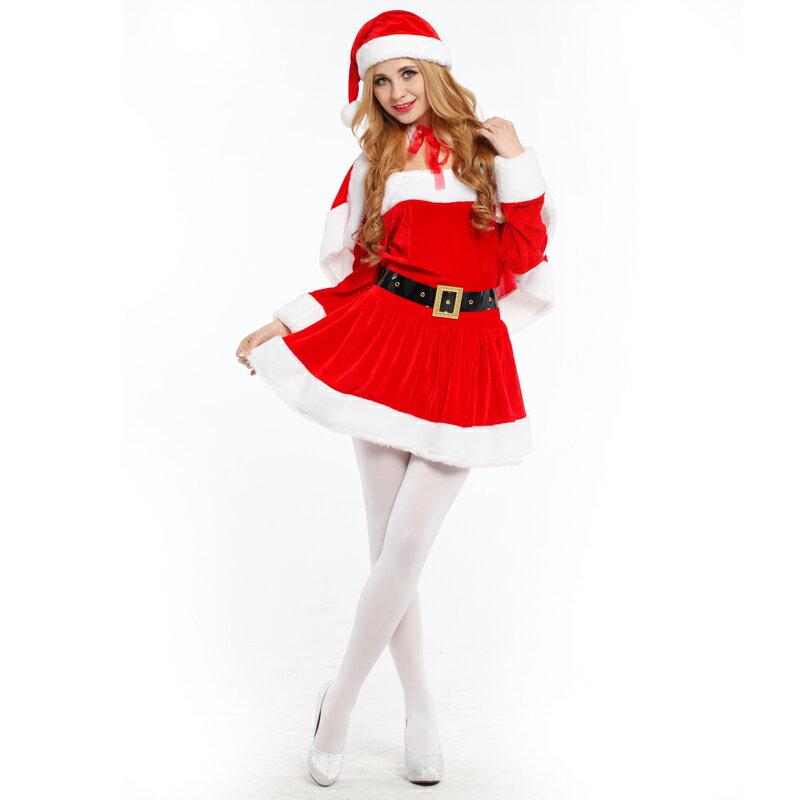 X射线【X380036】 斗篷圣诞服, 舞会/尾牙/万圣/圣诞/大人变装/cosplay/表演/摄影/写真/话剧