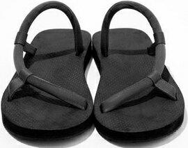 Mont-Bell 日系圓織帶休閒拖鞋/戶外涼鞋 Sock-on sandals 1129396_bk 黑