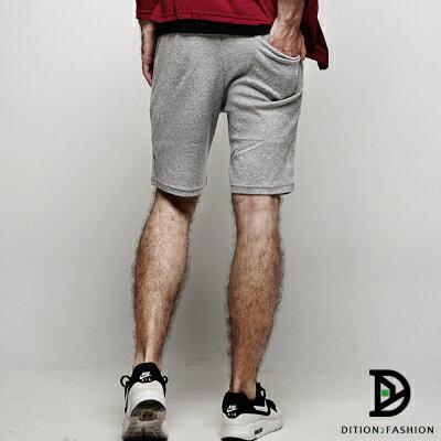 DITION 高回購美式OUTDOOR經典抽繩黑標棉褲短褲 2