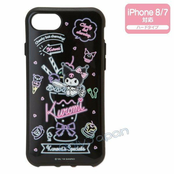 【真愛日本】4901610027424IP78手機殼-KU霓虹燈ADL三麗鷗庫洛米手機殼手機保護3c用品