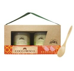 COCO FRESCO 初榨冷萃有機椰子油2入禮盒裝
