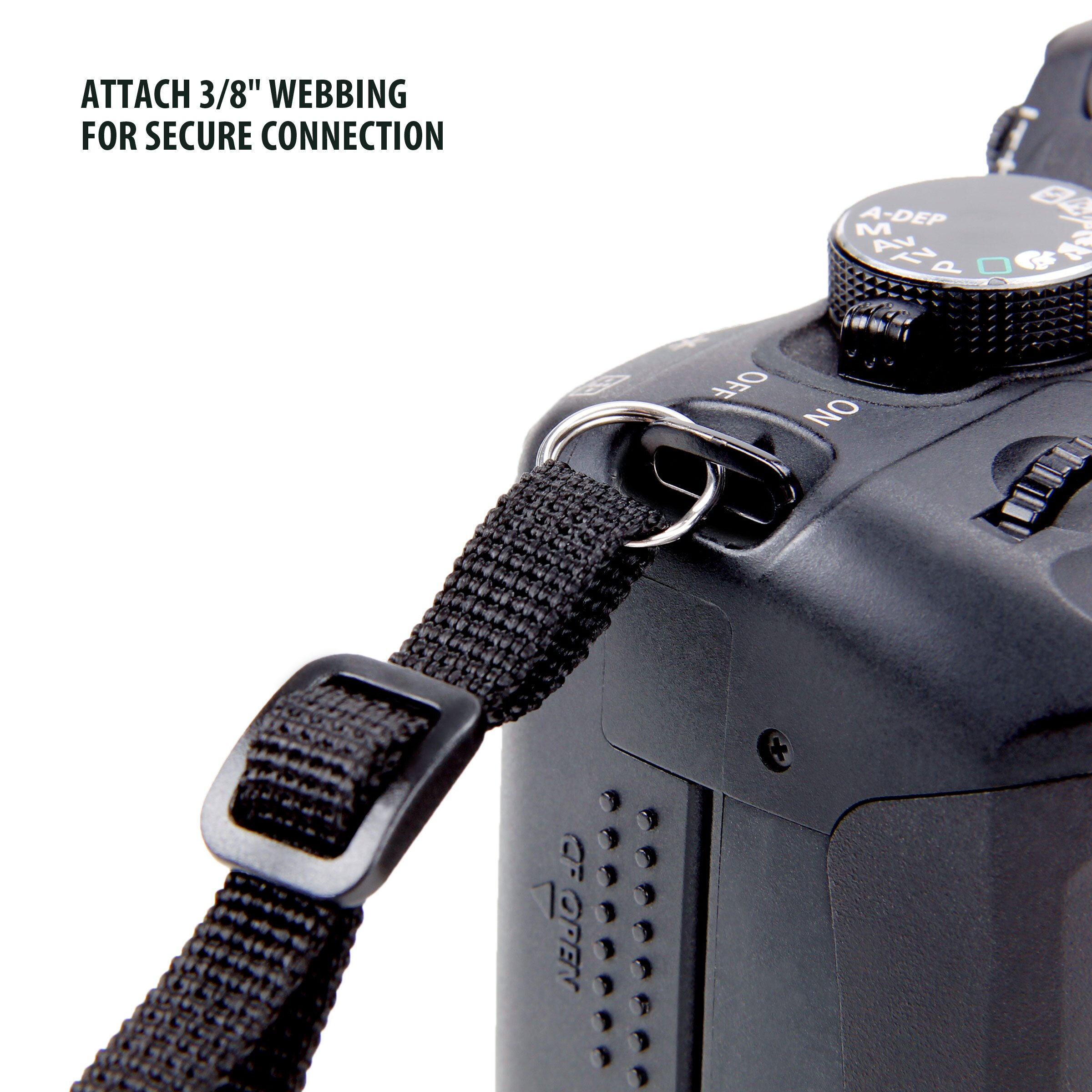 Camera Neck Strap Shoulder Sling with Accessory Storage Pockets by USA Gear for Sony Cameras 6