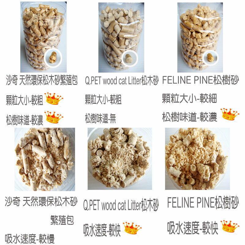 沙奇 天然環保松木砂-繁殖包-40LB / 磅(約18kg)-【免運】(G002E03-1) 2