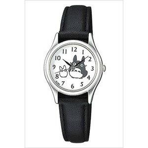 【真愛日本】16060900004 雙龍貓銀灰圓鏡面手錶  龍貓TOTORO豆豆龍 手錶 鐘錶 日本帶回*預購