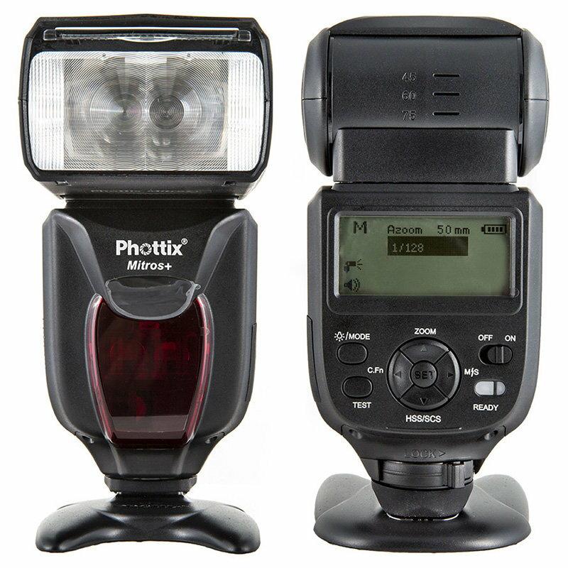 ◎相機專家◎ 現貨 送eneloop低自放電電池 Phottix Mitros+ TTL 閃光燈兩支 for Nikon + Odin發射器 群光公司貨