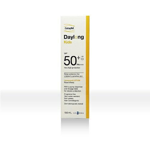 Cetaphil舒特膚全日護兒童防曬乳SPF50+PA++++(150ml)