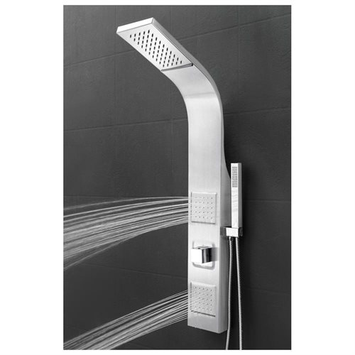 "39"" Shower Panel Tower Handheld Shower Head Wand Body Spray Wall Mount Rainfall AKSP0039 2"