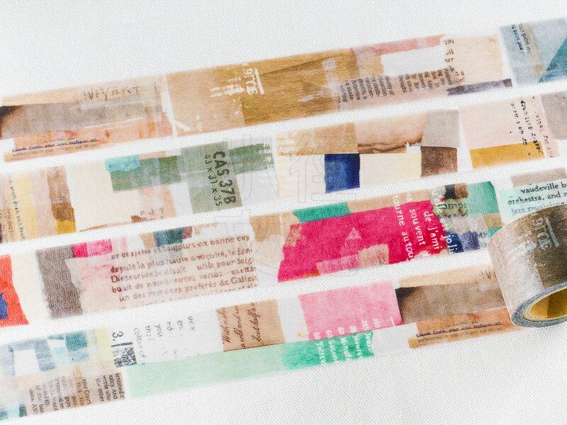 *小徑文化* | 台灣原創 | 日本進口和紙膠帶 小徑 X 夏米花園 8th. 韶光荏苒 系列  - COLOR ( MTW-CH082 )