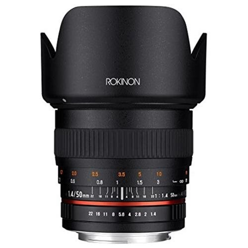 Rokinon 50mm F1.4 Lens for Sony E Mount 0