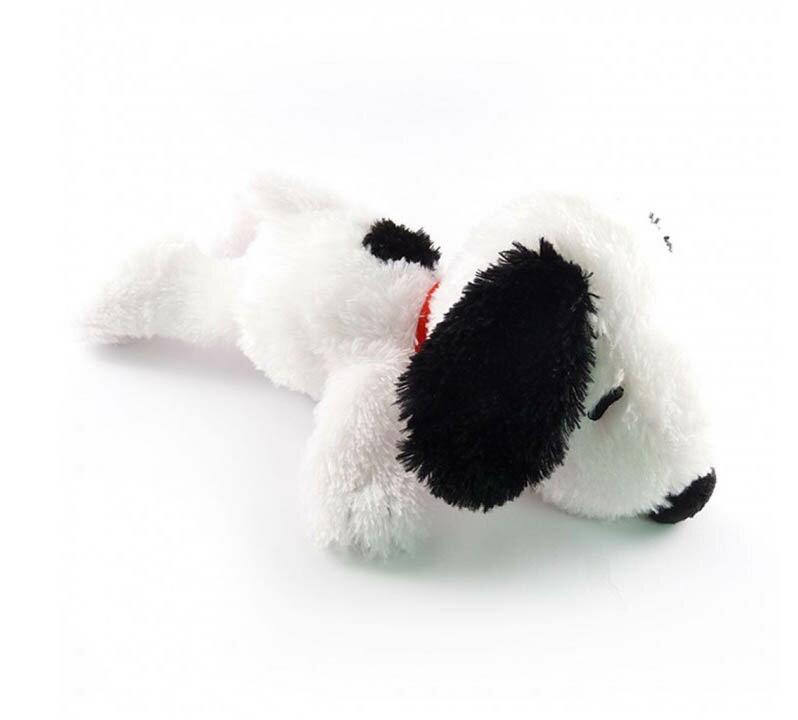 剪刀石頭紙 Snoopy 絨毛/白色趴趴短絨