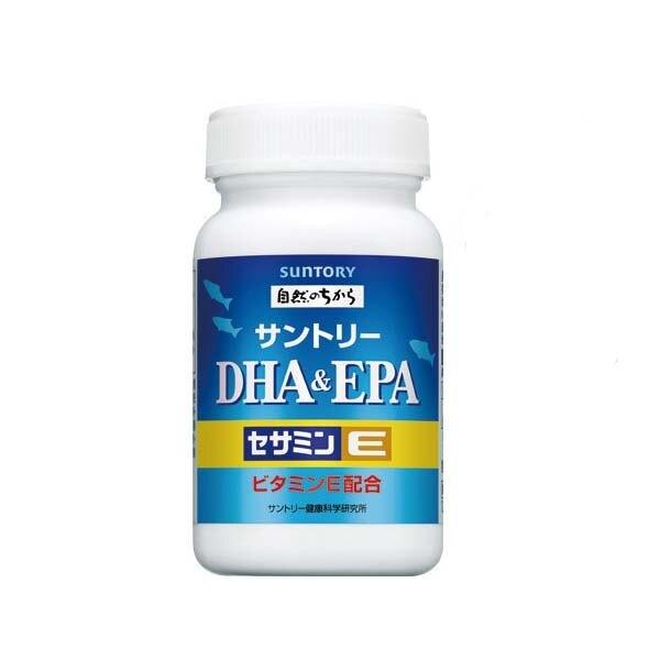 【4瓶組超值團購】SUNTORY 三得利 DHA&EPA+芝麻明E 120錠 / 瓶◆德瑞健康家◆ 1