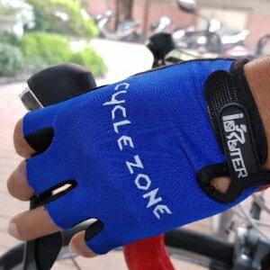 美麗大街【106080629】夏季新款自行車半指手套