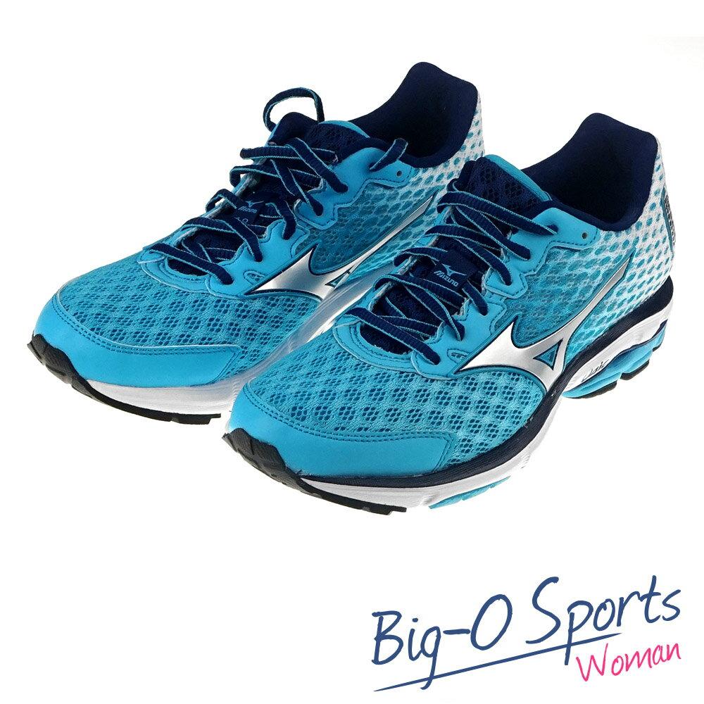 MIZUNO 美津濃 WAVE RIDER 18 (W) 慢跑鞋 女 J1GD150604 Big-O Sports