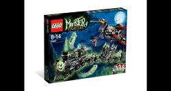 ☆勳寶玩具舖【現貨】LEGO 樂高 怪物獵人系列 9467 幽靈火車 幽靈