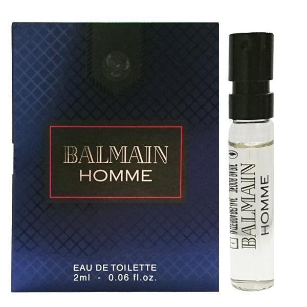 BALMAIN 軍裝搖滾 男性淡香水 2ml 針管《Belle倍莉小舖》