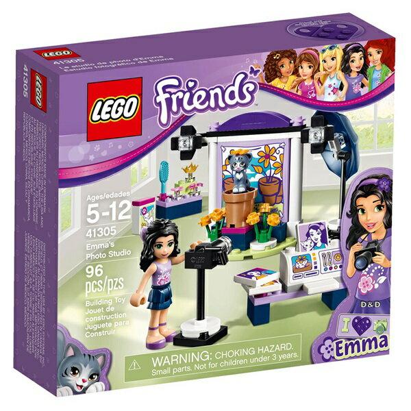 樂高積木LEGO《 LT41305 》Friends 姊妹淘系列 - 艾瑪的攝影工作室